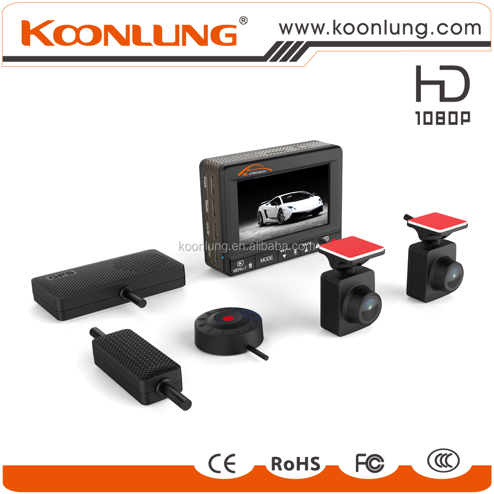 Koonlung best seller dual cam dash camera