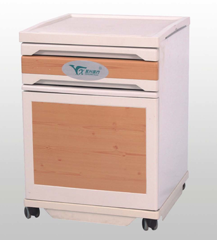 Yongxing D13 Wholesale ABS Sickroom Furniture One Draw Hospital Beside Table