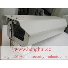 18'' CCTV camera housing with wiper CCTV extruded aluminum camera housing H4718