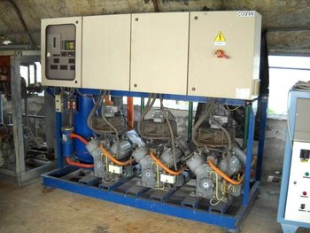 15.000,00 EUR used refrigeration system used by 60HP