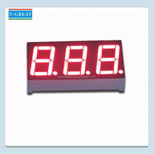 Red custom 7 segment led display for exchange rate display board