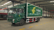 gel coated GRP sheet truck body /truck box /truck van