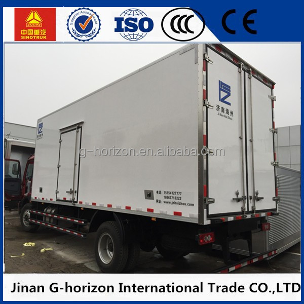 Insulated truck body / freezer box / cargo box in ckd