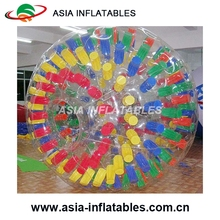 pretty color zorbing ball huge ball for grass game big size inflatable body zorb ball
