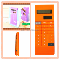 Super thin clip calculator electronic digital calculator