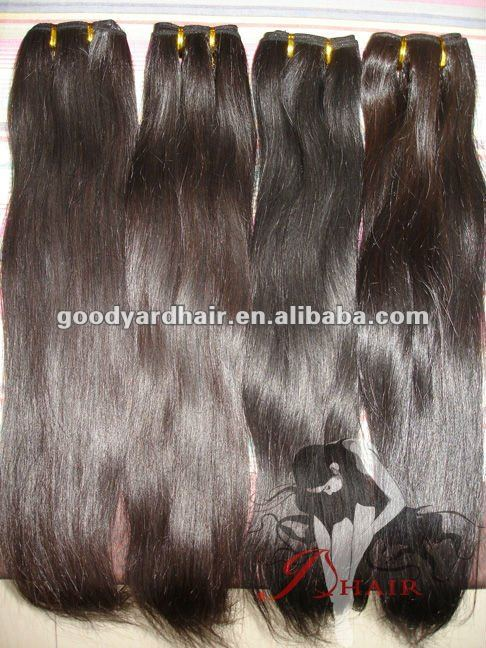Paypal Accepted healthy hair no silicon added Top Quality Virgin Hair Weft