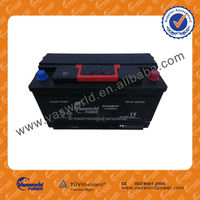 DIN88 Maintenance free battery 12v 88ah for automobile 12v car battery prices