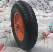 black color PU foam wheel 4.00-8