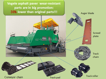 excavator rubber track pad, rubber track shoe for excavator parts