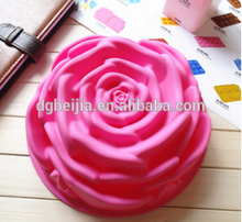 2015 Silicone Cake Mold silicone rose cake mold For Birthday Ice Tray Candy Chocolate