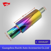Hot Selling HKS Truck Neo Chrome Single Exhaust Muffler Tail Pipe