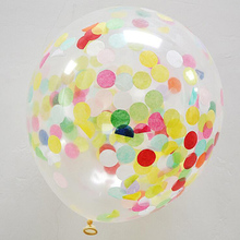 Promotional <strong>12</strong> Inch Mutil Color Party Decoration Paper Confetti Balloon