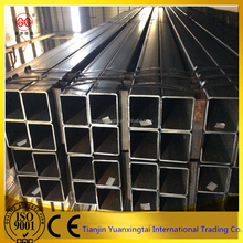 ERW SS400 Black Welded Steel Pipe for Furniture pipe mild steel pipes