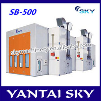 china supplier new used portable spray booth for sale/automotive paint spray booth