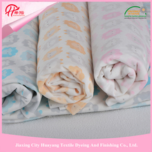 For hometextile, cushion, blanket etc 100% Polyester,2016 Promotion Velboa Plush Fabric, Cow Print Fleece