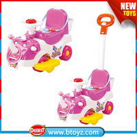 pink elephant shape ride on vehicle with EN71 7P certificate