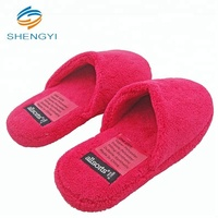 Ladies fluffy embroidery fur women bedroom fancy fluffy indoor house slippers