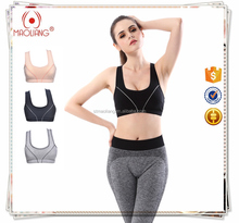 Dropship gym bra sports women inner support wear lady's sport bra custom with cheap price