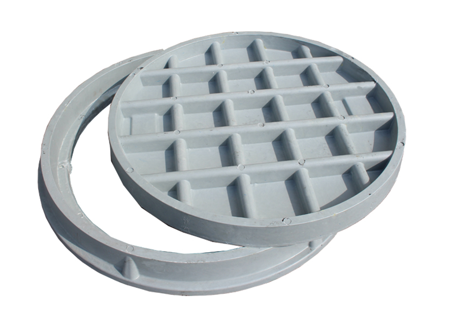 en124 d900 composite used manhole cover for highway
