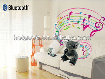 hot sale plush bluetooth koala bear with speaker made in China