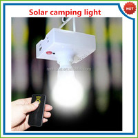 IP 65 solar light led remoter controller usb cable mobile phone charger solar rechargeable light bulb camping solar lighting