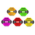 Newest Model Impact Indicator Impact Sticker Shockwatch Label Damage Control Indicator