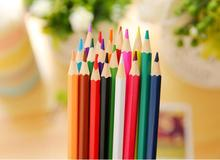 Best amazon promotion gift DIY creative stationery Novelty 12/18/24/36 Color Marking drawing pencil wax Crayons pen