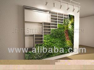Vertikalen garten gr ne wand wohnwand gras blume pflanzer for Blumentopf verkleidung