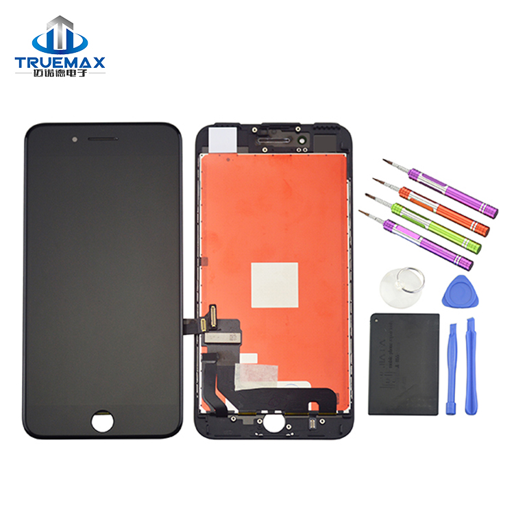 Factory Wholesale LCD Touch Screen for iPhone 7 Plus, LCD With Digitizer Assembly for iPhone 7 Plus