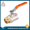 TMOK BSP Threaded 1/2'' Brass Ball Valve for Water Gas Natural Gas Chroming Ball Valve Importer In Dehli