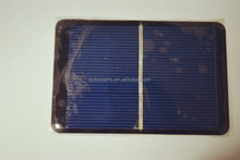 Low price high efficiency mini epoxy resin mini PV solar panels
