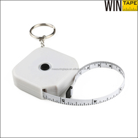 China Tape Measure Manufacturer Beautiful Unique Keyring Square