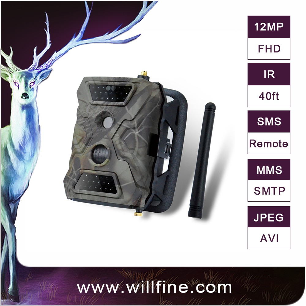 940nm Scouting Hunting Camera HD 1080P GPRS MMS GSM Digital Infrared Farm Wildlife Forest Security Camera