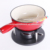 Enamel Cast Iron Cookware Chocolate Cheese Fondue Set With Mini Pot Mug Wooden Forks Cup Kitchen Camping Nonstick Cookware Sets