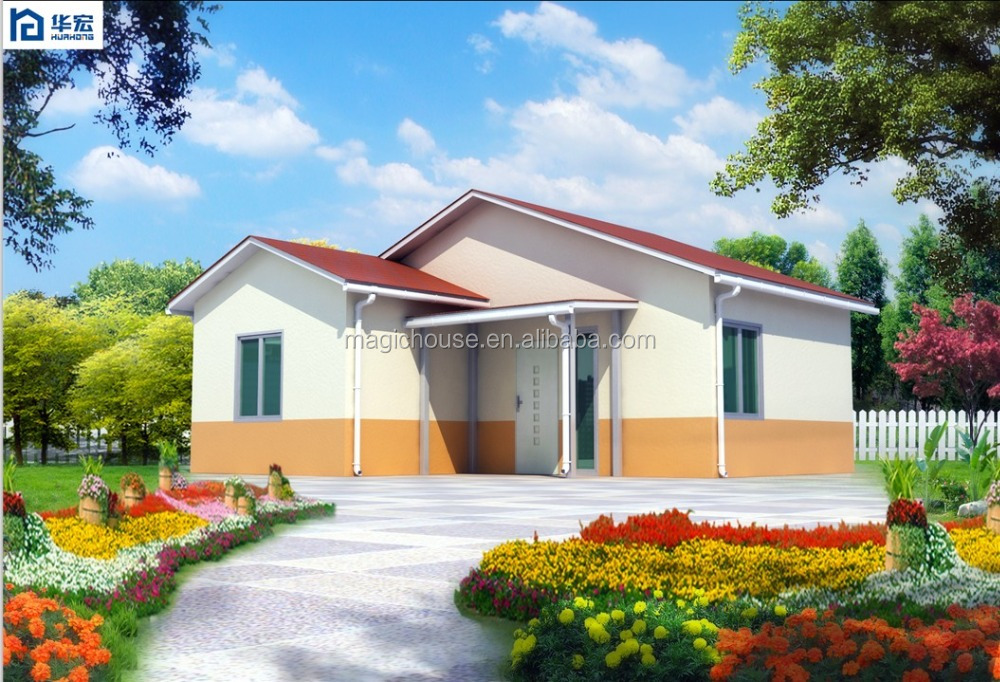 Shandong Magic Modular Housing newly launched house compound wall designs/ small cottage house plan ready made