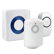 Multi transmitters and receivers available wireless doorbell flasher for deaf at homes