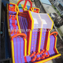 Outdoor Inflatable Race Obstacle Course/adult bounce house