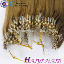 Wholesale Alibaba China Supplier Hot New Product For 2016 1Gram Micro Ring Loop Hair Extension