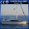 China manufacturing Hison 26ft personal sailing yacht china