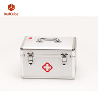 Manufacturer Aluminium Alloy Portable Medical First Aid Kit Box