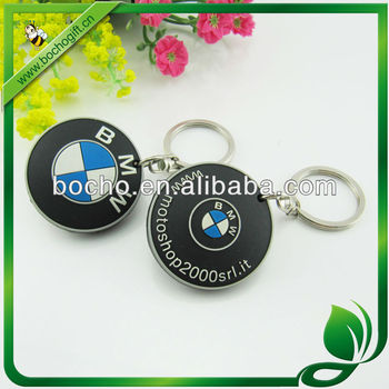flexible rubber keyring