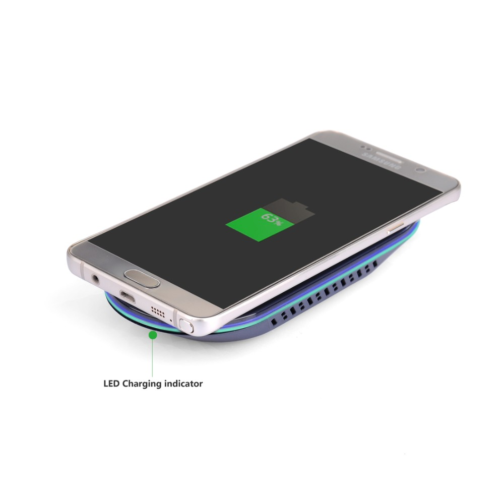 Popular Fast QI Standard Wireless charger Transmitter Module Charging Pad For SamsungS6/S6 edge/Note5/S7/S7 edge