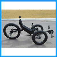Moutain tricycle Recumbent Trike for Adults