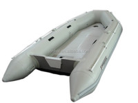 3.6m PVC hull inflatable boat for sale 5 persons inflatable rubber boat