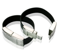 High quality free sample bracelet usb memory 2tb usb flash drive