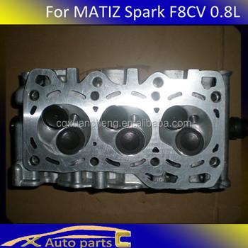 cylinder head assy use for daewoo matiz spark engine f8cv. Black Bedroom Furniture Sets. Home Design Ideas