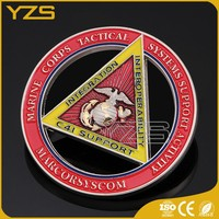 Wholesale 3D Custom Foreign Military Challenge Coin