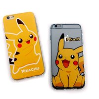 pokemon phone case for iphone 6 plus , new game cartoon soft tpu case