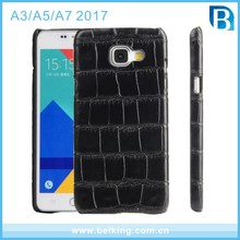 Crocodile Pattern Leather Case For Samsung A3 A5 A7 2017 PU Soft Cases