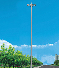 Liang Figure 20m 30m 50m stadium steel high mast lighting pole